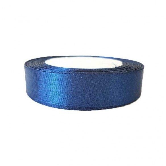 Ruban satin bleu marine 20mm x20m