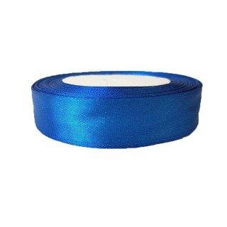 Ruban satin bleu roi 20mm