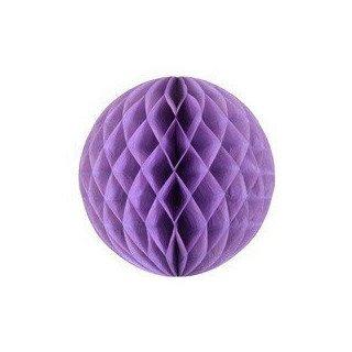 Boule alvéolée parme 30cm