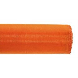 Chemin de table organza orange