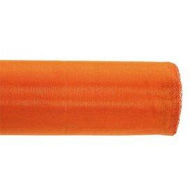 Chemin de table organza orange