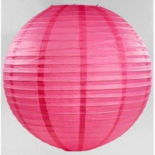 boule lampion fushia 40cm