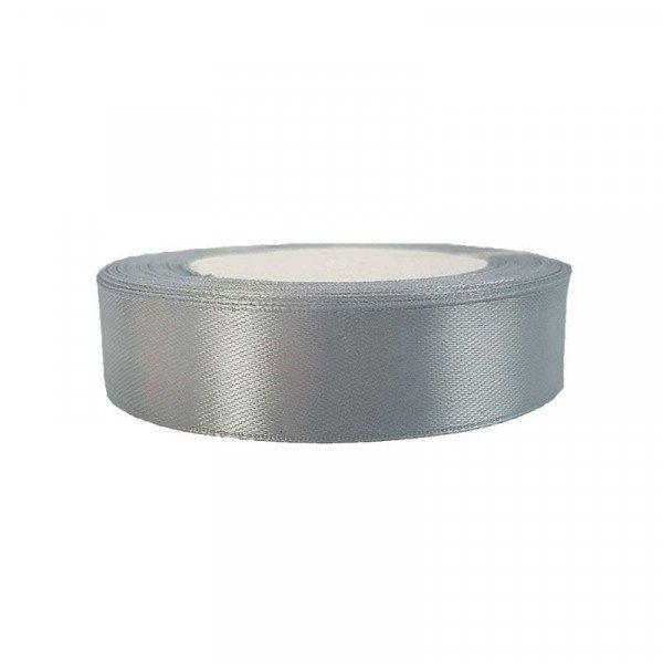 Ruban satin gris 2cm X 20metres
