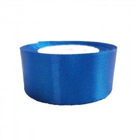 ruban satin bleu roi  4cm