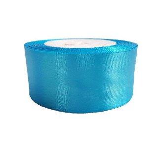 ruban satin bleu turquoise 4cm