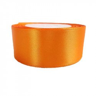 Ruban satin Orange 4cm