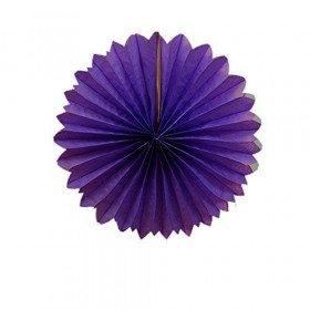Rosace papier violet 30cm