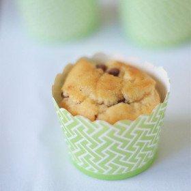 Caissette a cupcake vert anis, lot de 24
