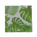 Serviettes feuilles tropicales X20