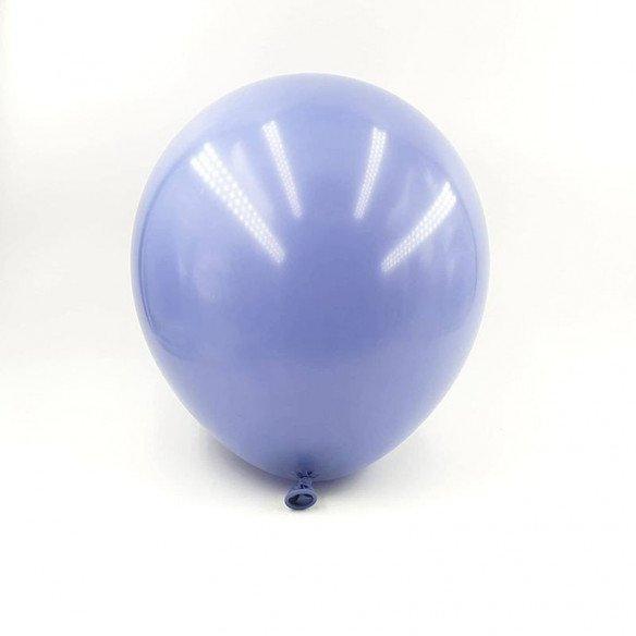 6 ballons bleu indigo 30cm