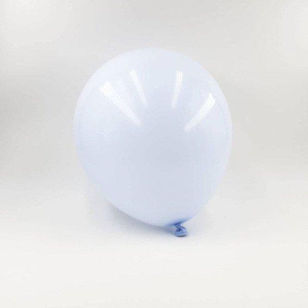 6 ballons pastel bleu 30cm