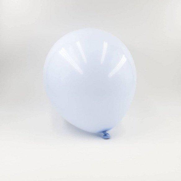 6 ballons pastel bleu 20cm