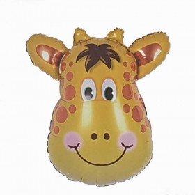 Ballon géant tête de girafe