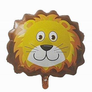 Ballon géant tête de lion