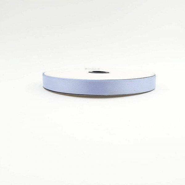 Rouleau ruban satin bleu glacé 15mm X 91m