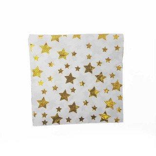 Serviette étoiles doréx20