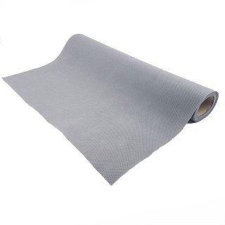 Chemin de table gris effet tissus