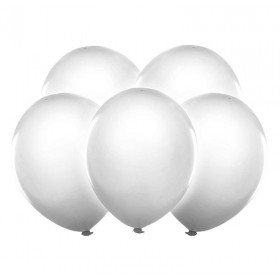 5 Ballons blanc à LED