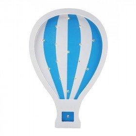 Montgolfière bleu LED