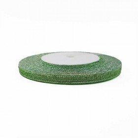 Ruban métallisé vert 6mmx20m