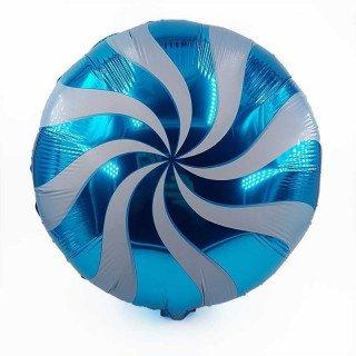 Ballon sucette turquoise 34cm