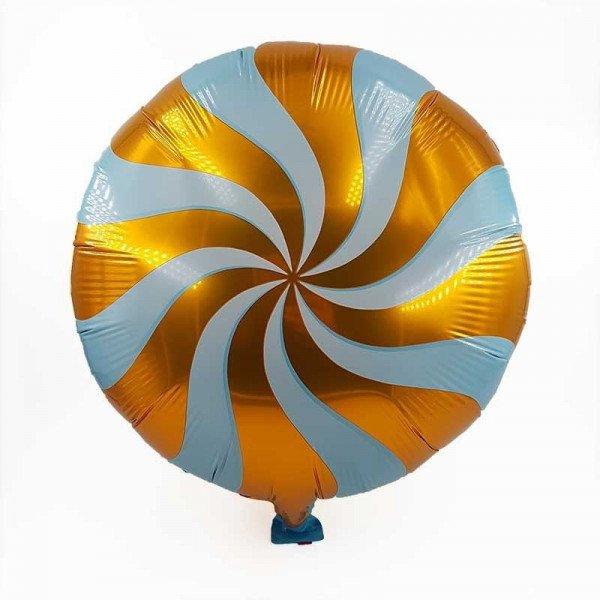 Ballon sucette orange 34cm