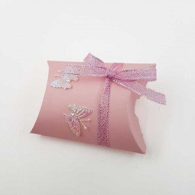 50 Boîtes pour dragées étui carton rose
