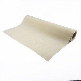 Chemin de table ivoire effet tissus