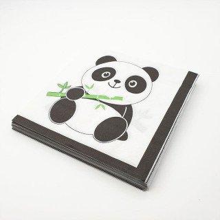 Serviettes panda