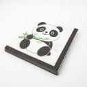 Serviettes panda (paquet de 20)