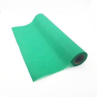 Chemin de table vert prairie effet tissus (5m)