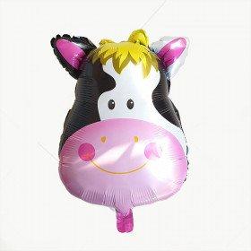 Ballon mylar tête de vache