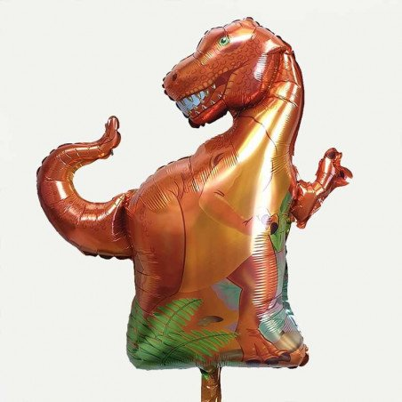 Ballon mylar dinosaure T-REX