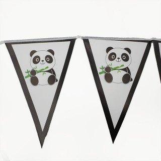 Guirlande fanion panda