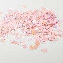 Confettis licorne rose nacré