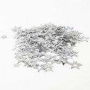 Confettis étoile argent