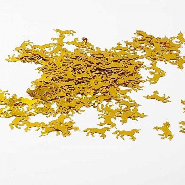 Confettis Licorne doré