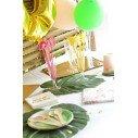 Kit decoration anniversaire tropical fille
