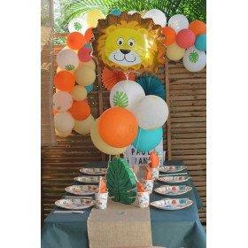 Kit anniversaire jungle safari