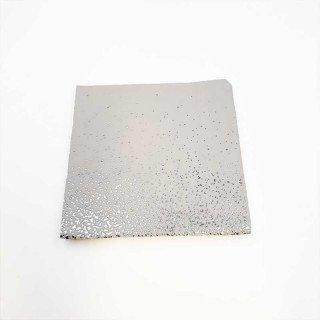 Serviette papier blanche poussière argent x20