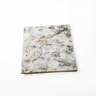 Serviette papier marbre doré x16