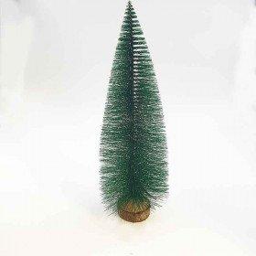 Sapin vert pointe blanc 29cm