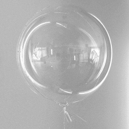 Ballon transparent 45cm