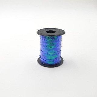 Rouleau bolduc reflet bleu 6mmx10mètres