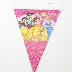 Guirlande fanion anniversaire Princesses