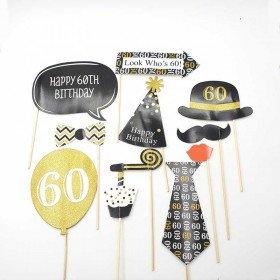 Kit photobooth 60 ans