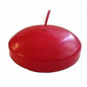 Bougie Flottante rouge (boite de 12)