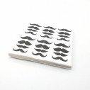 Serviette papier moustache x20