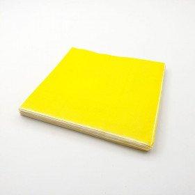 Serviette papier jaune X20