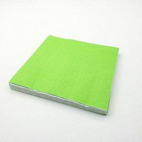 Serviette papier vert pomme X20